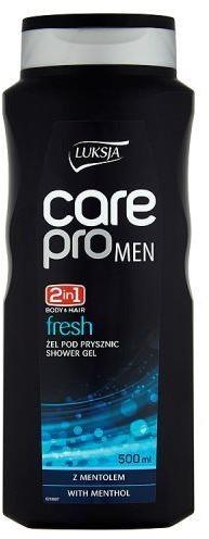 Cussons Żel pod prysznic Luksja Care Pro Men Fresh 500 ml