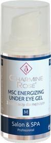 Charmine Rose MSC ENERGIZING UNDER EYE GEL Energetyzujący żel pod oczy dla mężcz