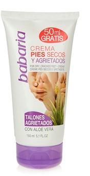 Babaria Feet Krem do nóg do zrogowaciałej skóry Cracked Feet-Cream with Aloe Vera 150ml