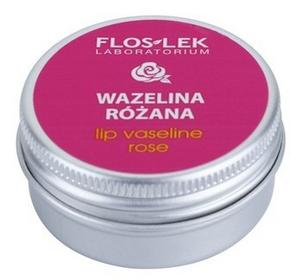 Flos-Lek Laboratorium Lip Care Rose wazelina do ust 15 g