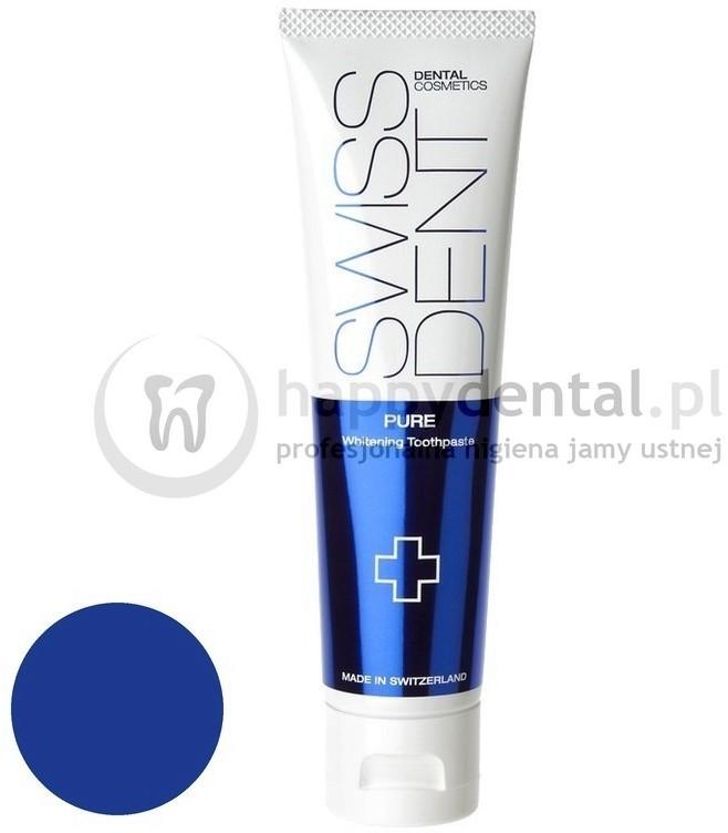 Swissdent Cosmetics Toothpaste PURE 100ml (DUŻA) - wybielająca pasta k