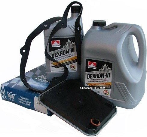 Petro-Canada Filtr oraz olej Dextron-VI automatycznej skrzyni biegów Chrysler Pl