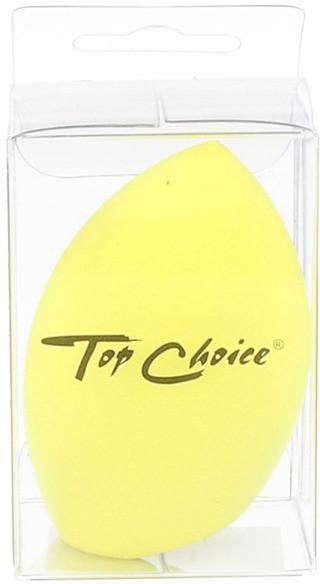 Top Choice Gąbka do makijażu ŚCIĘTA Żółta 5905710036156