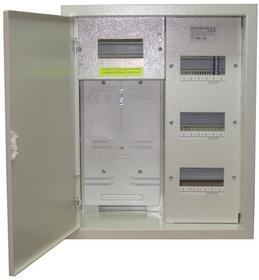 Elektro-Met Rozdzielnica licznikowa podtynkowa RL 24 z zamkiem