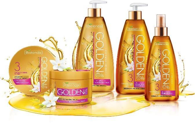 Bielenda Golden Oils Ultra Odżywianie olejek do kąpieli i pod prysznic 250 ml