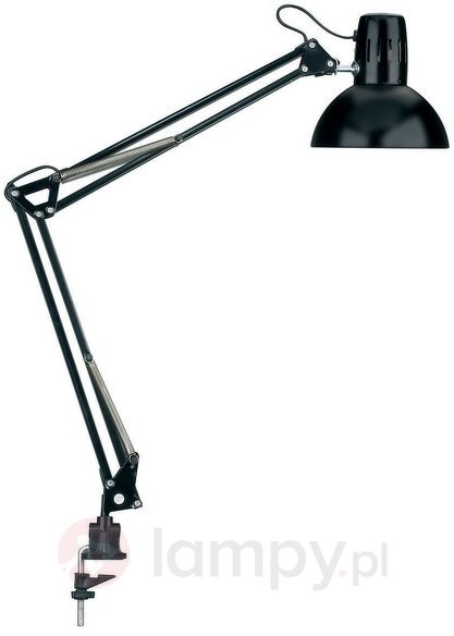 MAUL Jakob GmbH Klasyczna lampa biurkowa STUDY, czarna