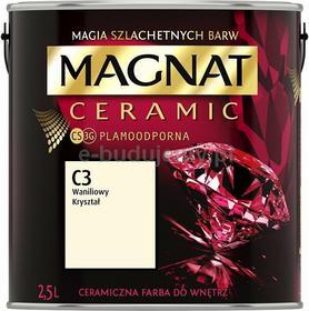 Magnat CERAMIC 2.5L - ceramiczna farba do wnętrz - C3 Waniliowy kryształ