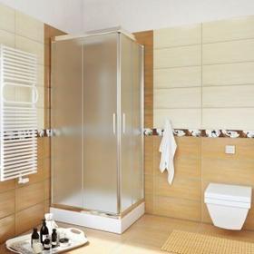 Sea Horse Sigma 70x70 profil chrom szkło chinchila z powłoką CleanGLASS BK000/3/Q+