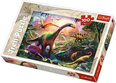 Trefl 100 el. Świat dinozaurów PT-16277