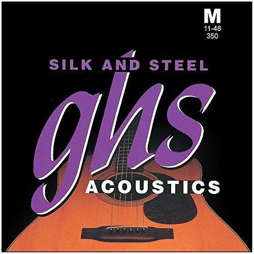 ghs GHS SAS 350Silk/Steel String Medium 350