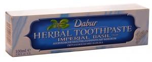 Dabur Pasta do zębów ziołowa z bazylią - wybielająca wzmacniająca zęby - U