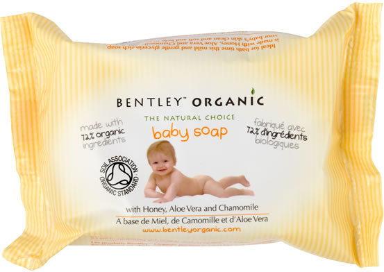 Bentley Organic Mydło w kostce dla dzieci 125g - 843389000304