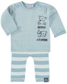 Dirkje Boys Komplet 2-częściowy small stripe/light blue 31U-21054H_1