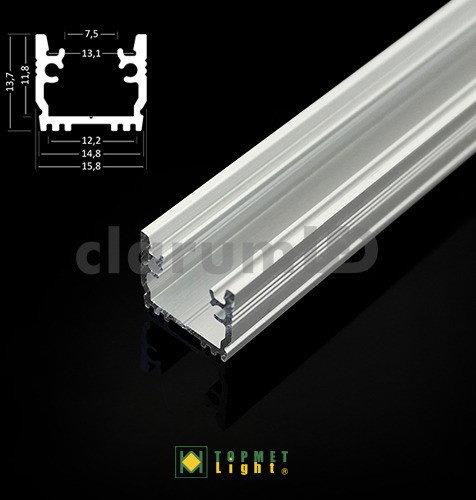 Topmet Light Profil do montażu taśm LED FLOOR12 - 2 m B1020020