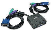Edimax Przełącznik KVM EK-PA2C