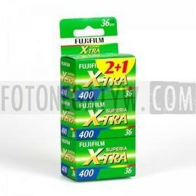 Fuji FILM X-TRA 400/36/3szt.