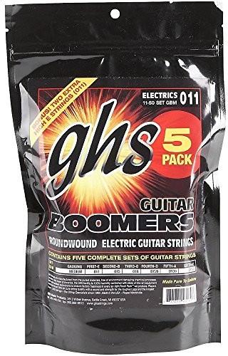 ghs GHS GB M 5Pack boomers String średni (opakowanie  szt.) GBM-5
