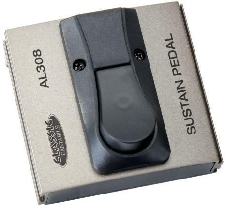 Classic Cantabile Polaryzacja Classic cantabile wyłącznikiem nożnym wzmacniacz (przełącznik, przycisk na nogę, Sustain/Drive pedałów, przełącznik, złącze Jack Mono, 94X 88X 50MM) 00024722