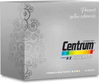 Wyeth Centrum Silver 50+ Multiefekt 100 szt.