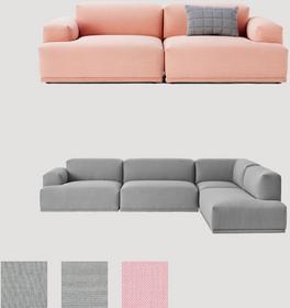 Muuto Connect - Sofa modułowa 5710562174617