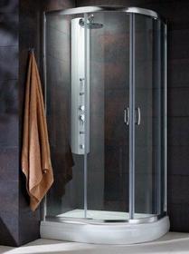 Radaway Premium Plus E 100x80 szkło fabric 30491-01-06N
