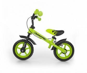 Milly Mally Rowerek biegowy Dragon z hamulcem zielony