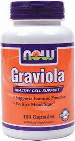 Now Foods Graviola 500mg 100 szt.