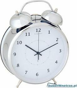 Nextime budzik 9 cm Wake up silver 5111zi