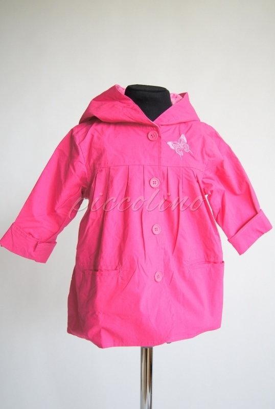 Płaszczyk wiosenny dla dziewczynki, Tup Tup, różowy - rozmiar 98