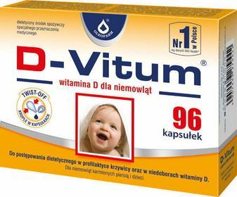 Oleofarm D-Vitum witamina D dla niemowląt 96 szt.