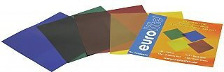 Eurolite Colour-foil set 19x19cm, four colors