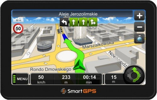 smartGPS SG710 bez map