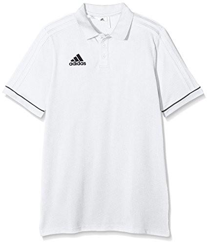 Adidas Dzieci TIRO 17 Cotton koszulka polo, biały BQ2696