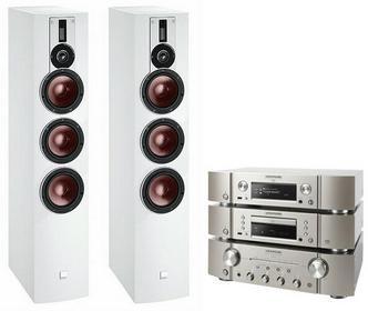 Marantz PM8005 + SA8005 + NA8005 + Dali Rubicon 8