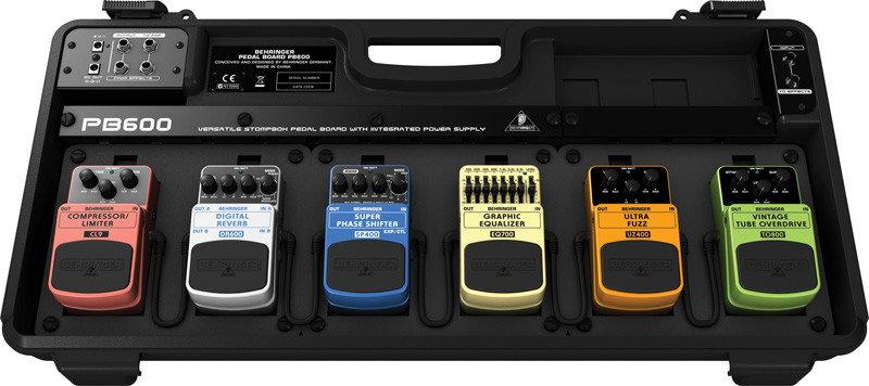Behringer PEDAL BOARD PB600 - podłoga na efekty