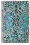 Paperblanks kalendarz 2016 Mini Silver Filigree Collection Maya Blue tygodniowy