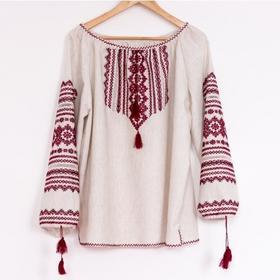 Wyszywanka Ukraińska Hand-made, Haftowana Koszula Damska, Wyszywana Ręcznie, roz