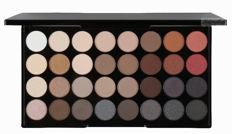 Makeup Revolution FLAWLESS 2 - ULTRA EYESHADOWS - Paleta 32 cieni do powiek MR201456