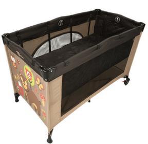G-mini łóżka wkładane do łóżeczka Nyja ciemno brązowe GM1501P.04