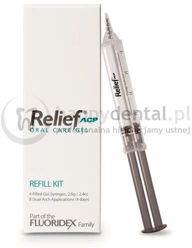 Discus Dental RELIEF ACP Oral Care Gel 1 strzykawka - żel znoszący nadwrażliwość zębów