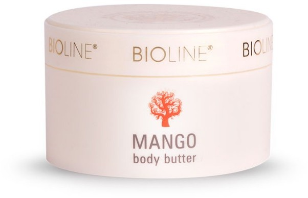 Bioline masło do ciała z mango, 200ml - 5902311940073