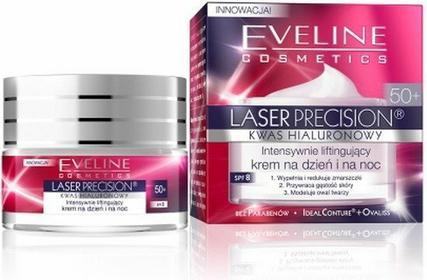 Eveline Cosmetics Laser Precision przeciwzmarszczkowy krem na dzień i na noc 50+ 50ml