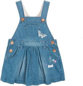 Cool Club Spódnica jeansowa ogrodniczka