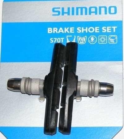 Shimano M70T - Klocki Hamulcowe V-Brake (Y8GV9801A)