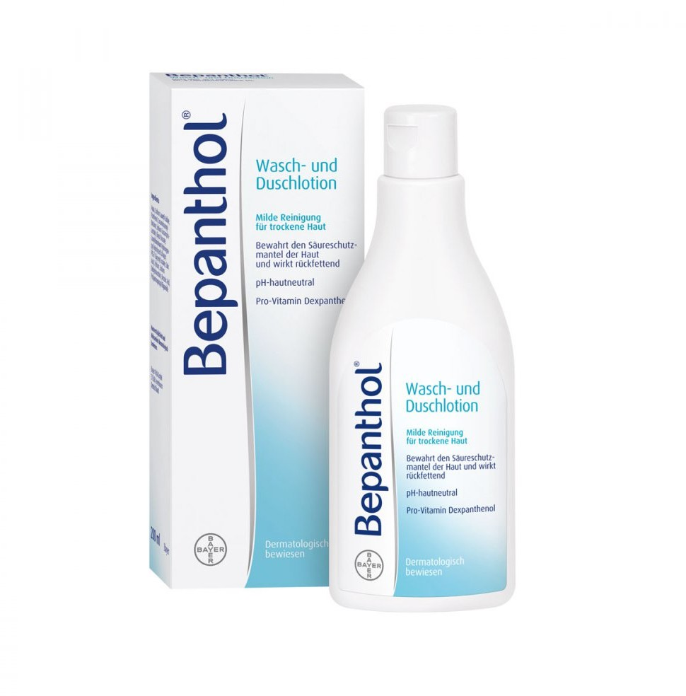 Bayer Bepanthol balsam do kapieli i pod prysznic Vital GmbH 200 ml