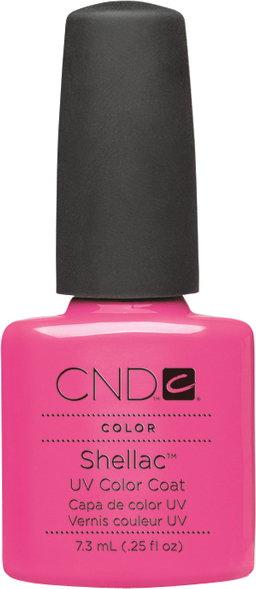 CND Lakier hybrydowy Shellac - Hot Pop Pink 7,3 ml