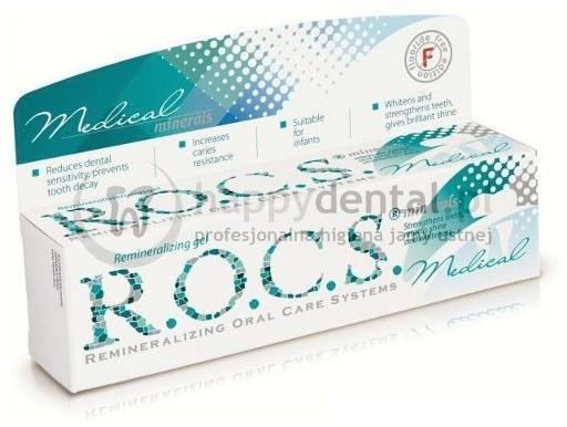 R.O.C.S. żel 35ml Medical-MINERALS remineralizacja