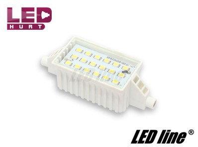 Led line Żarówka halogenowa, żarnik LED R7S 6W 230V 78mm biała zimna 245824