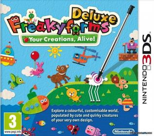 Freaky Forms Deluxe 3DS