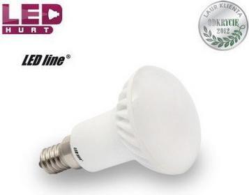 LED Line Żarówka LED E14 JDR 6W 16SMD5630 biała zimna 245237